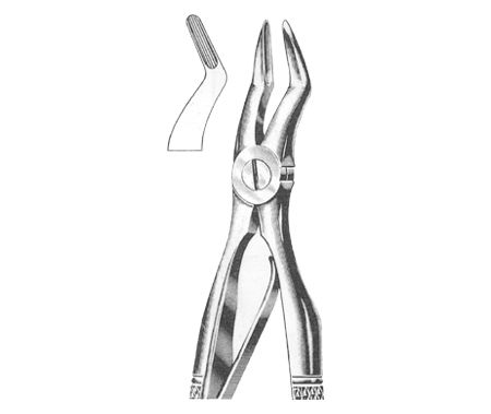 Tooth Extracting Forceps Children's With Spring